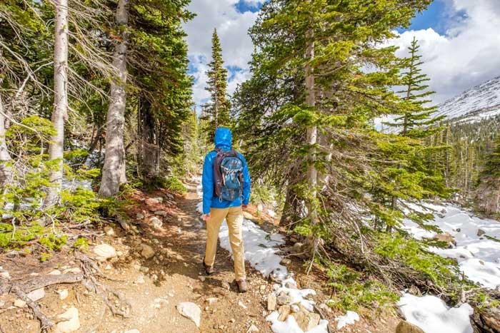 fare trekking in inverno
