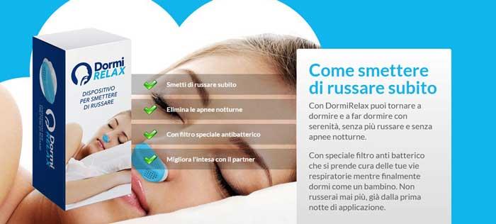 Dilatatore nasale antirussamento DormiRelax