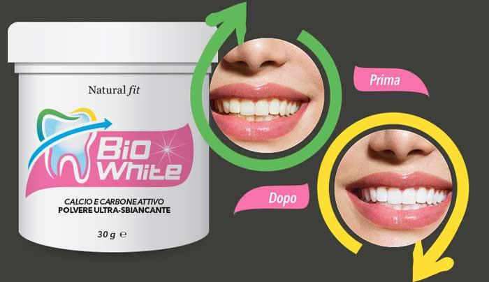 Smacchiante dentale BioWhite