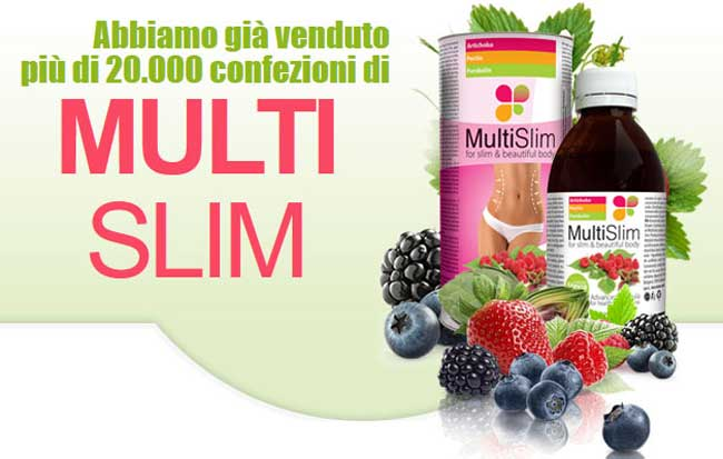 Integratore dimagrante MultiSlim
