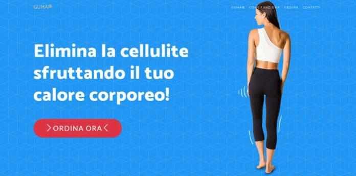 GUMA leggings push-up dimagranti