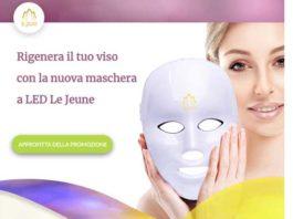 Maschera per il viso a led Le Jeune