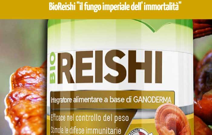 Integratore di Ganoderma Bio Reishi