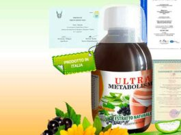 Sciroppo dimagrante Ultrametabolismo