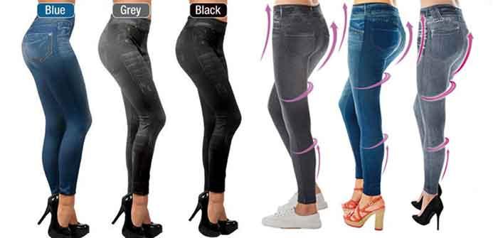 Pantaloni effetto Push Up Slim Jeggins