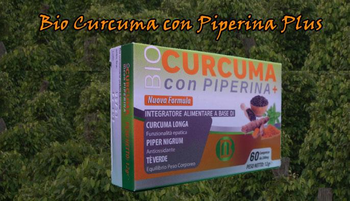 Bio Curcuama con Piperina Plus in compresse