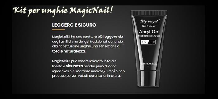 MagicNail gel ricostituente per unghie