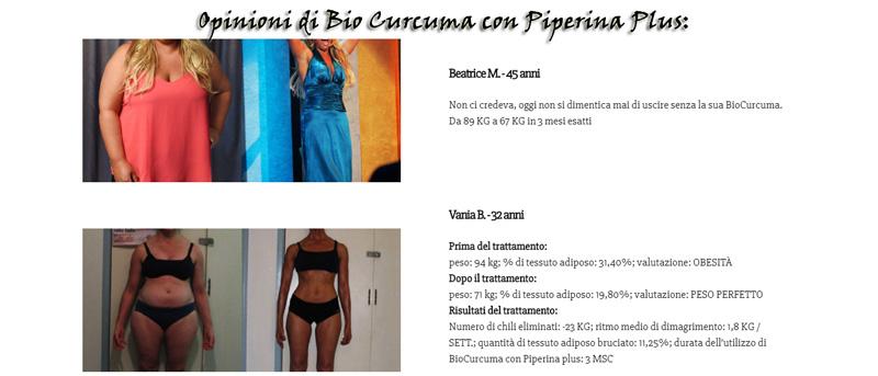 Bio Curcuma con Piperina Plus Opinioni
