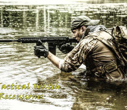 Recensione dell'orologio tattico X Tactical Watch