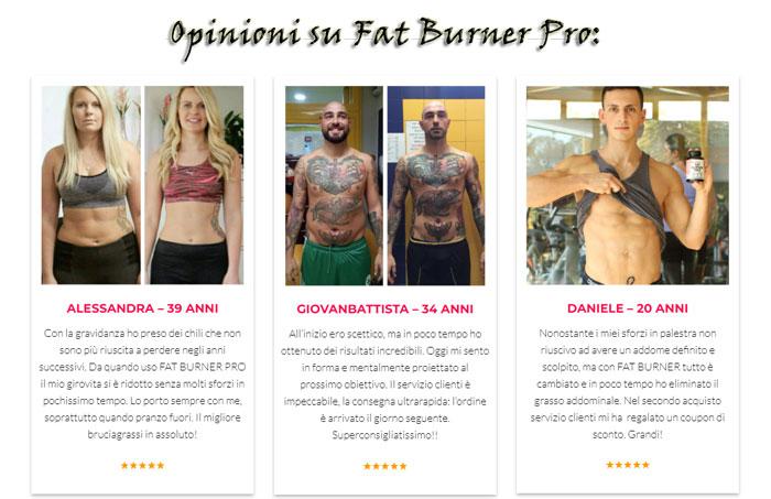 Opinioni di Fat Burner Pro
