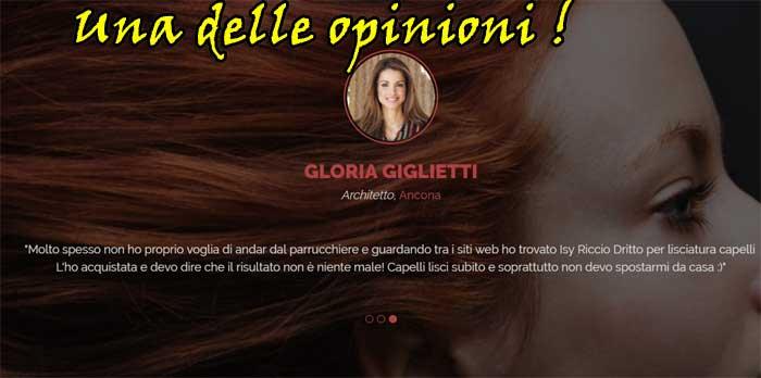 Opinioni dei clienti su Isy Riccio Dritto