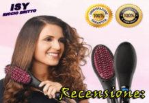 Spazzola lisciante per capelli ricci Isy Riccio Dritto