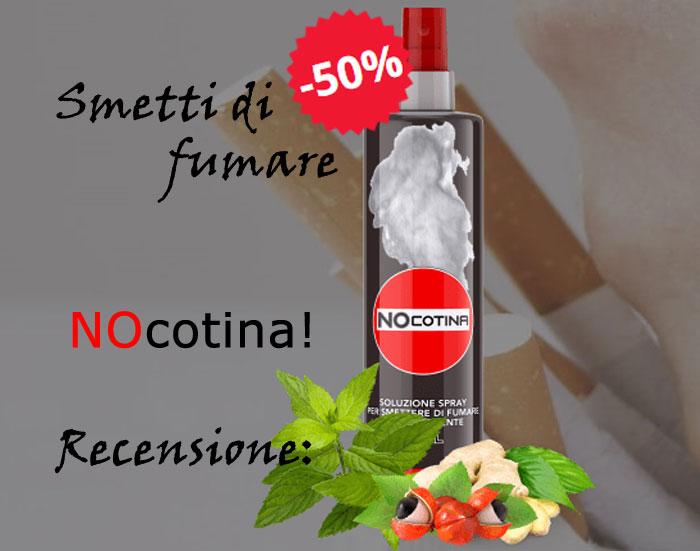 Spray per smettere di fumare