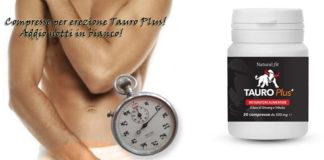 Pillole per erezioni dure e consistenti Tauro Plus