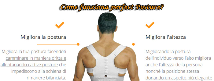 Come usare perfect Posture