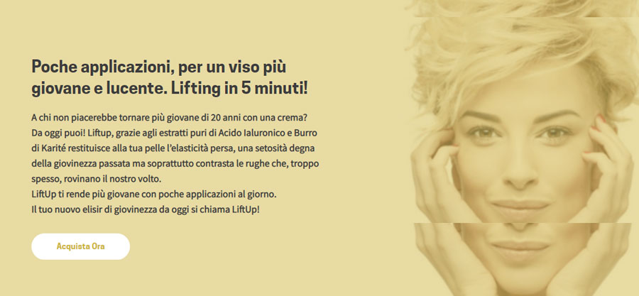 Crema effetto lifting Lift Up