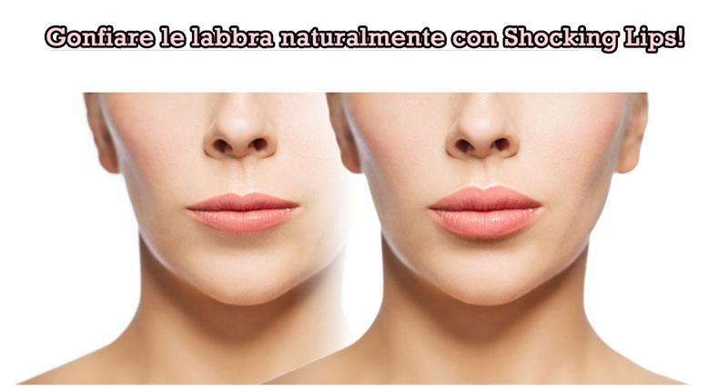 Emulsione gonfia Labbra