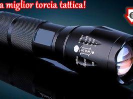Torcia tattica creed X Light