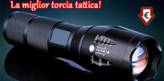 Torcia tattica creed X Light