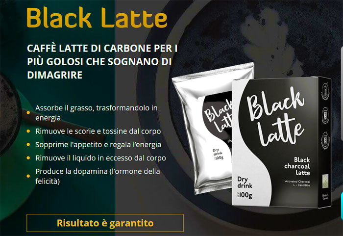 Dimagrante Black Latte
