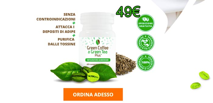 Prezzo di Green Coffee e Green tea Plus