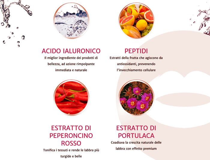 Ingredienti di Natulips