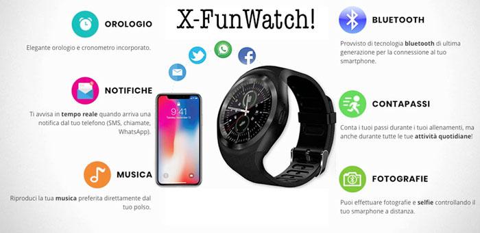 XFunwatch funzioni