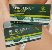 Integratore per dimagrire Spirulina Multi Act